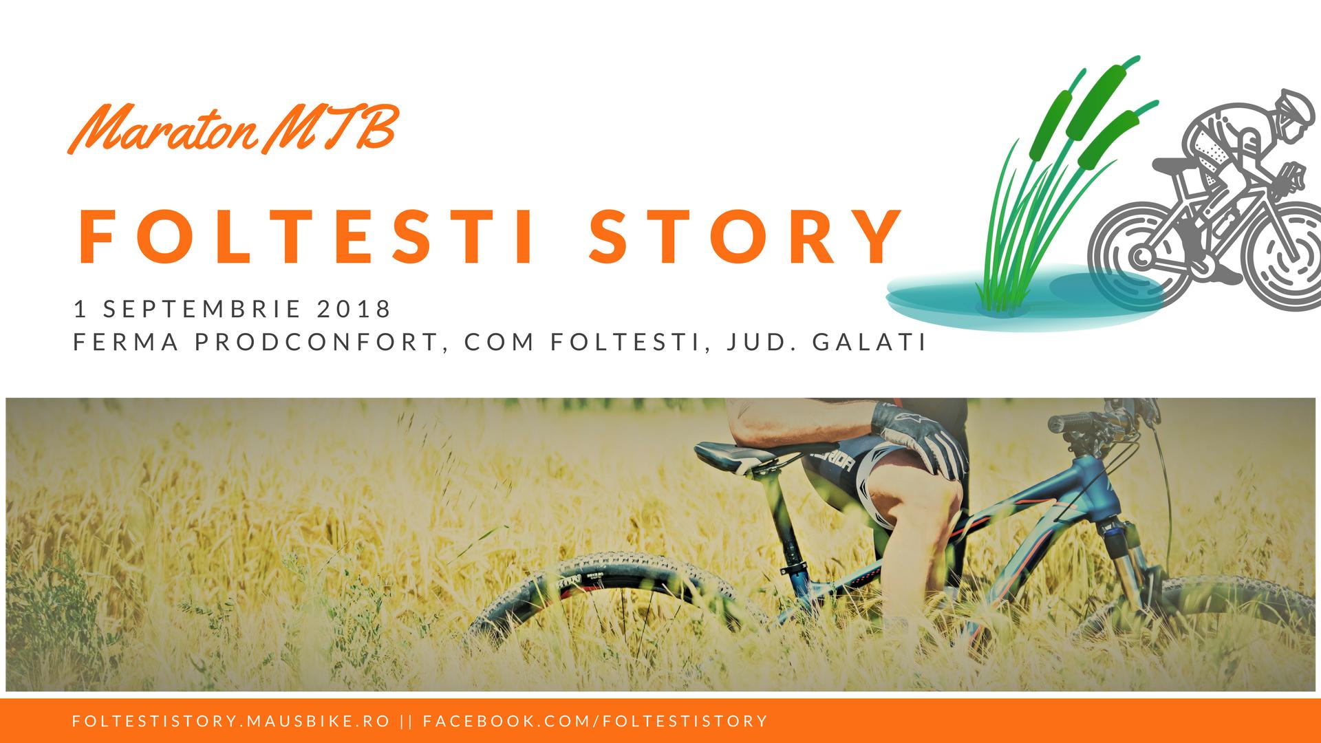 Foltesti Story - Concurs Ciclism Offroad pentru Amatori